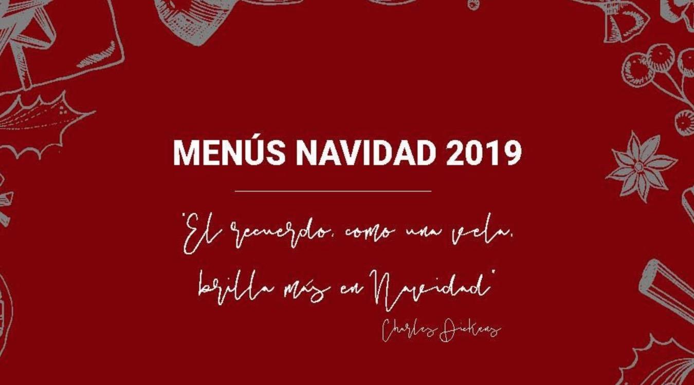 menús navidad 2019